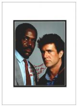 Danny Glover Autograph Signed Photo - Lethal Weapon